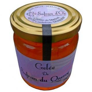 Safran d'Oc - Gelée de Safran 250 gr - gelée de safran