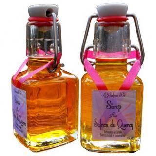 Safran d'Oc - Sirop de Safran 10 cl - sirop de safran