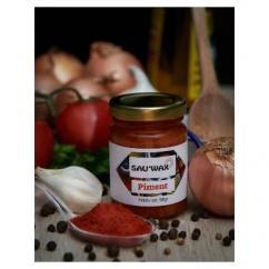 Sau'Wax - Purée de Piment forte - Condiments et sauces - 0.090