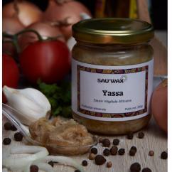Sau'Wax - Sauce Yassa - Condiments et sauces - 0.200