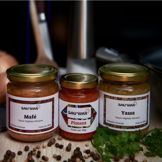 Sau'Wax - Trio Découverte - Légumes en conserve - 490