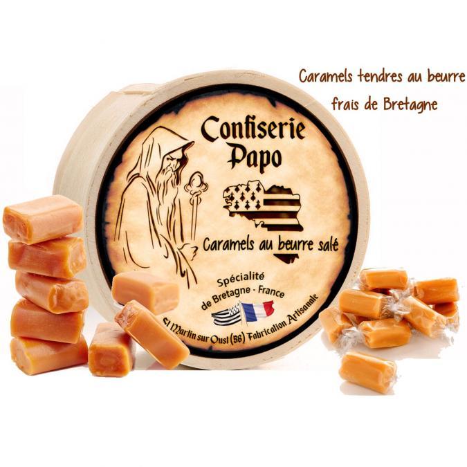 Saveurs de Bretagne - Caramels tendres au beurre frais de Bretagne Noix de Coco - Caramels