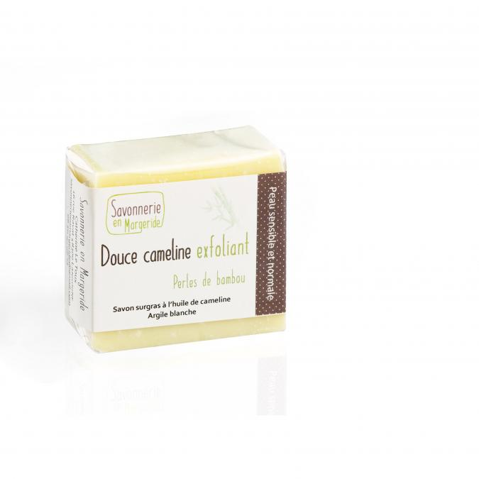 Savonnerie en Margeride - Douce cameline exfoliant - Savon - 100 g