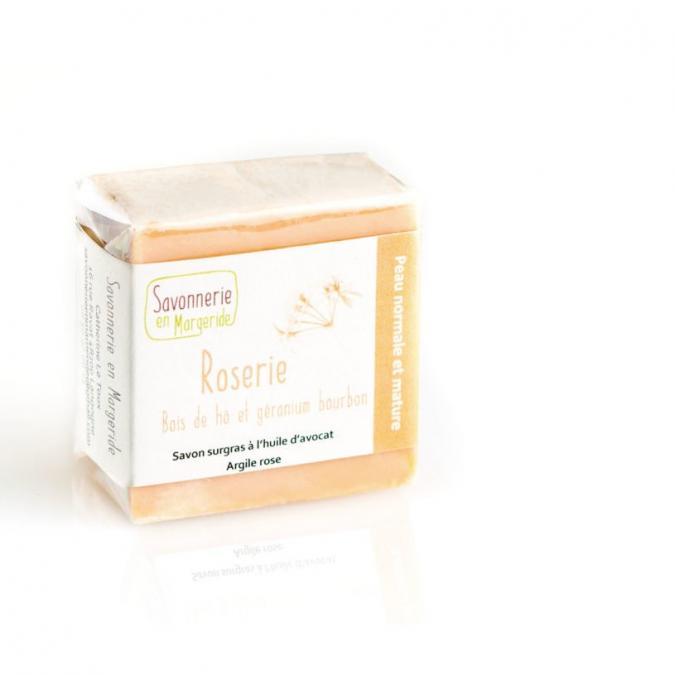 Savonnerie en Margeride - Roserie - Savon - 100 g