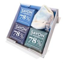 Savonnerie Gaiia - COFFRET 3 SAVONS DE MARSEILLE SURGRAS - Coffret (soin)
