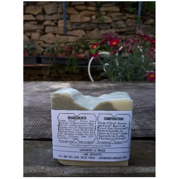 Savonnerie la Brique - Nature et Progrès - Le savon polyvalent de Léni - Savon - 0.100
