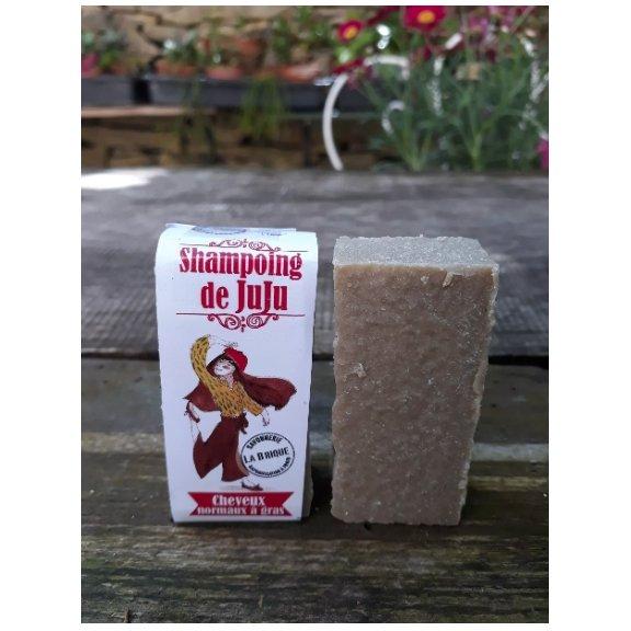 Savonnerie la Brique - Nature et Progrès - Le shampoing de Juju - Shampoing - 0.080