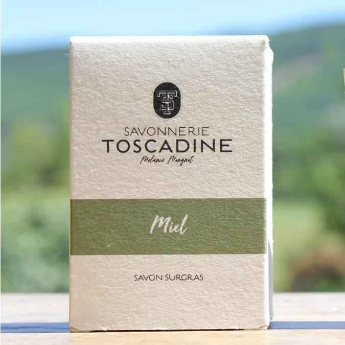 Savonnerie Toscadine - Savon Miel - Savon - 100 g