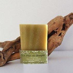 SAVONNERIE DE LA FOUX - Le Pur et Simple (Lait-Avoine) - 100 g - savon de toilette visage corps