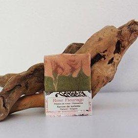 SAVONNERIE DE LA FOUX - Rose Fleurage (Rose - Palmarosa) - 100 g - savon de toilette visage corps