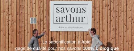 SAVONS ARTHUR - Fabricant de fils en père depuis 2015 de cosmétiques et détergents bio https://savons-arthur.bio/