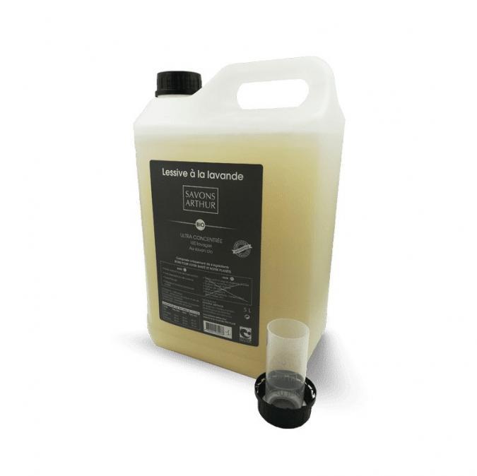 SAVONS ARTHUR - Lessive bio ULTRA Concentrée à la lavande 5L - kit lessive