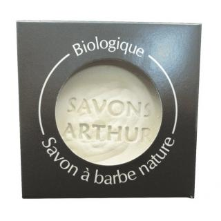 SAVONS ARTHUR - Recharge savon à barbe bio – Peaux sensibles - Savon à barbe