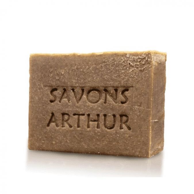 SAVONS ARTHUR - Savon bio à la menthe poivrée – peaux délicates - Savon - 0.120