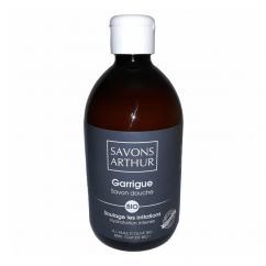SAVONS ARTHUR - Savon douche bio Garrigue 500mL – Soulage les irritations - savon liquide