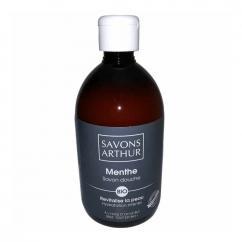 SAVONS ARTHUR - Savon douche bio Menthe 500mL – fraîcheur intense - savon liquide