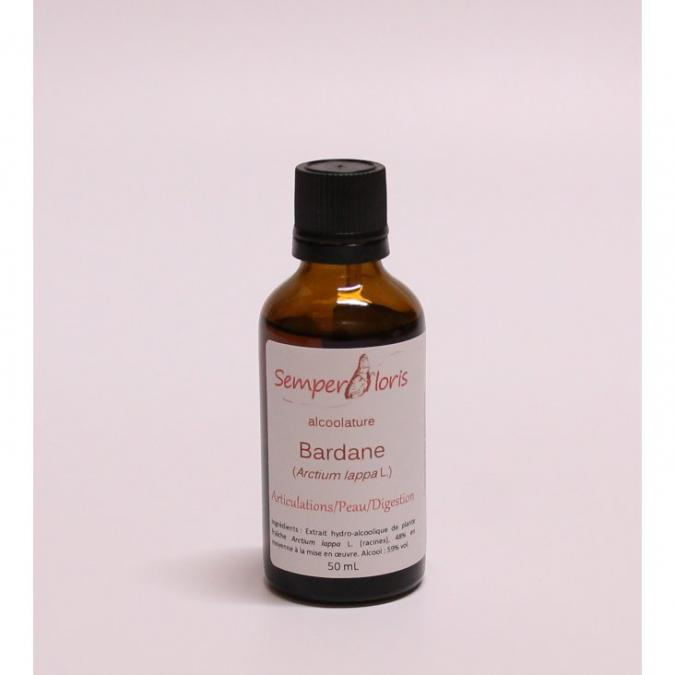 Semperfloris - Alcoolature Bardane - teinture mère