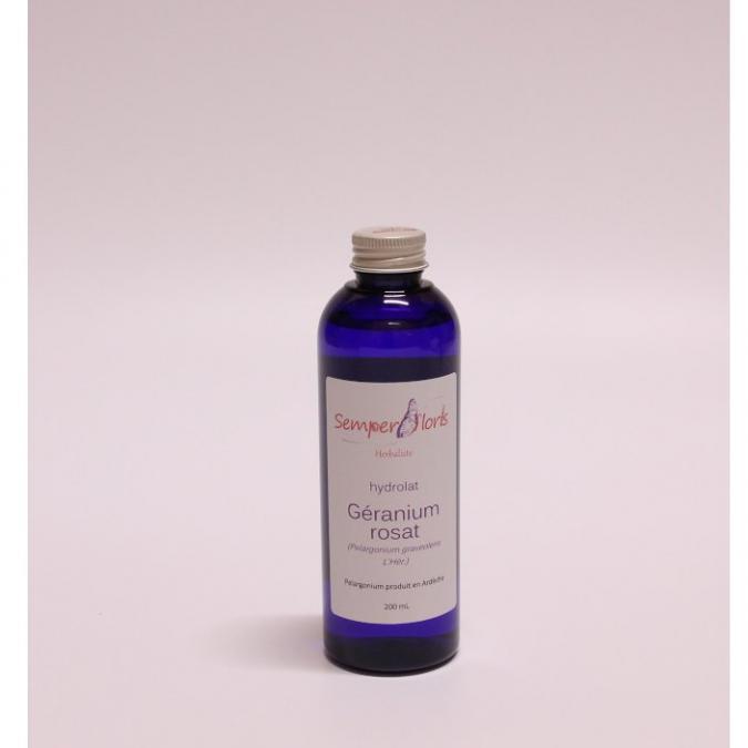 Semperfloris - Hydrolat Géranium rosat - Hydrolat