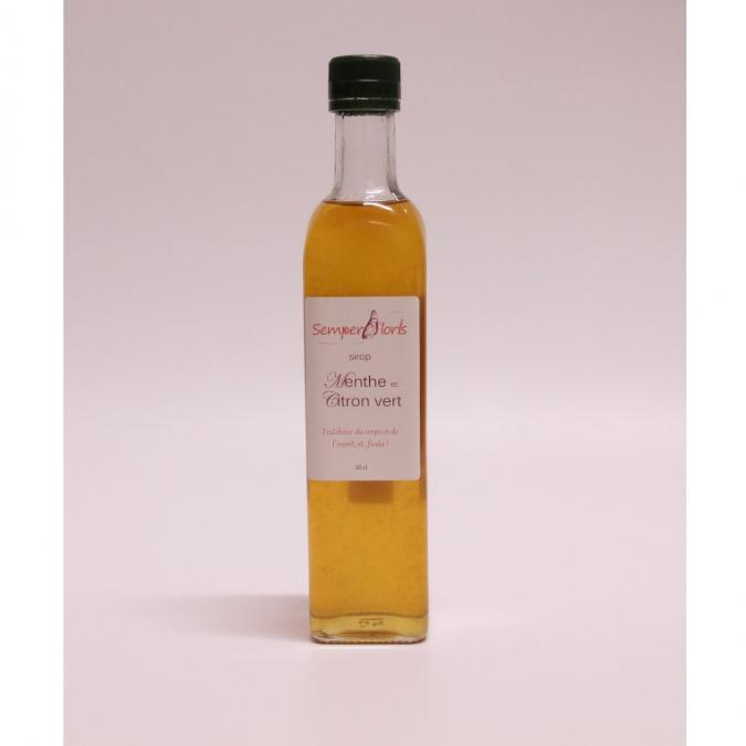 Semperfloris - Sirop Menthe - Citron Vert - Sirop