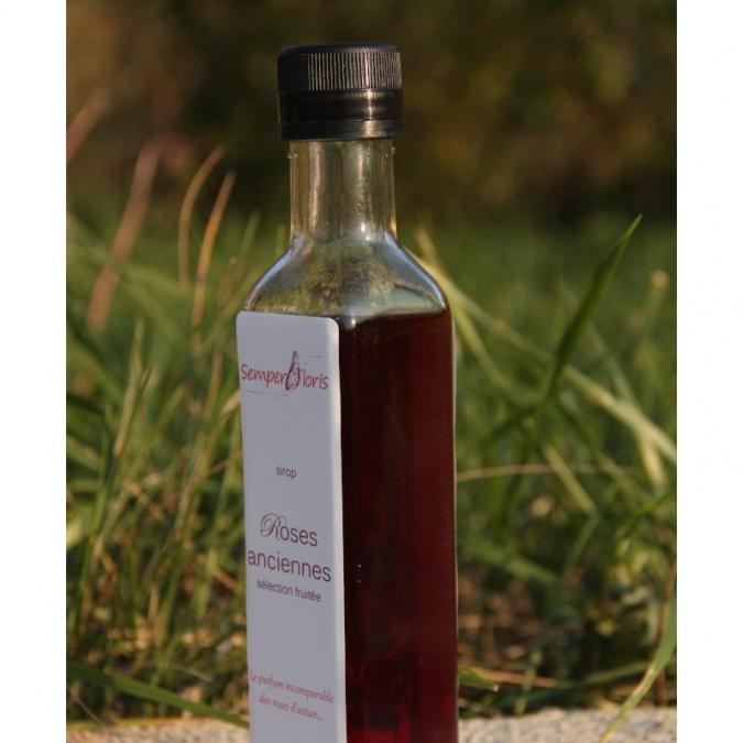 Semperfloris - Sirop Rose ancienne - sélection fruitée - Sirop