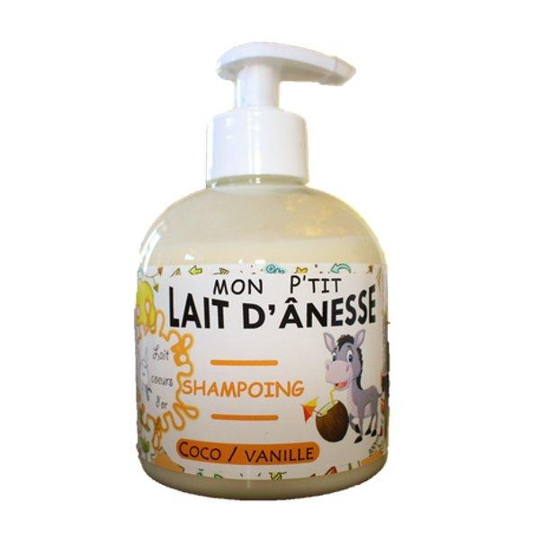 Lait cœurs d'or - Mon p'tit shampoing coco vanille - Shampoing -