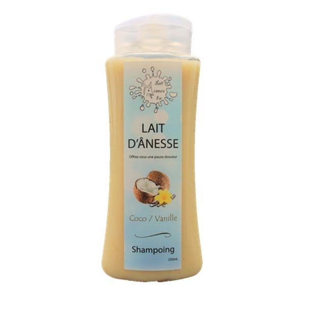 Lait cœurs d'or - Shampoing coco vanille - Shampoing -
