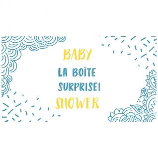 Sioou - Baby Shower - Tatouage éphémère