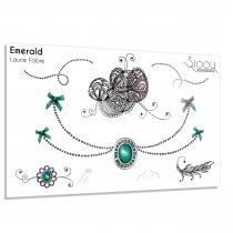 Sioou - Emerald - Tatouage éphémère