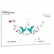 Sioou - Folding Love - Tatouage éphémère
