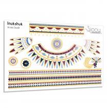 Sioou - Inukshuk - Tatouage éphémère