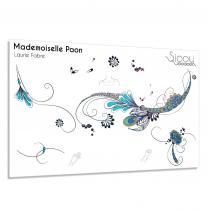 Sioou - Mademoiselle Paon - Tatouage éphémère