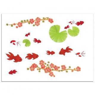 Sioou - Mini Goldfish - Tatouage éphémère
