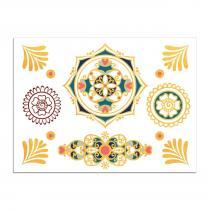 Sioou - Mini Mandala - Tatouage éphémère