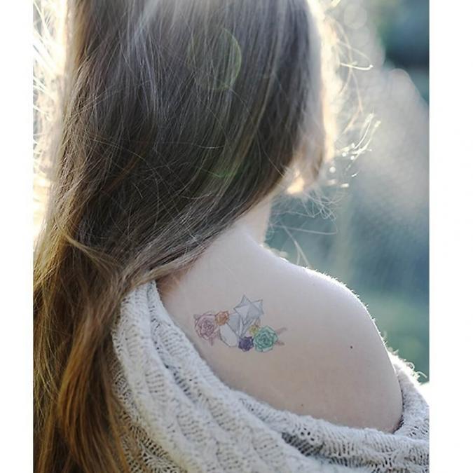 Sioou - Mini Pastel - Tatouage éphémère
