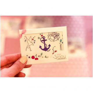 Sioou - Mini Sailor - Tatouage éphémère