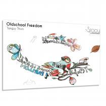 Sioou - Oldschool Freedom - Tatouage éphémère