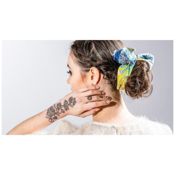 Sioou - Rosary - Tatouage éphémère