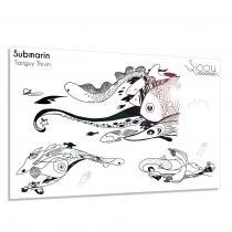 Sioou - Submarin - Tatouage éphémère