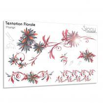 Sioou - Tentation Florale - Tatouage éphémère