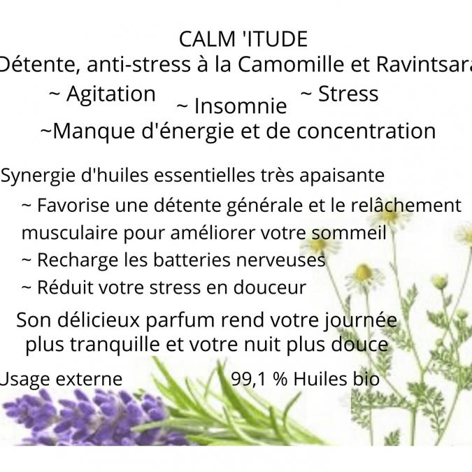 Soins naturels COSMEPROVENCE - Calm' itude Huile bien-être - Soin bien-ëtre