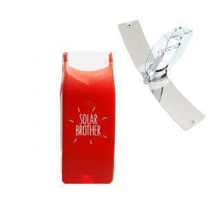 Solar Brother - SunCase Rouge - Briquet Solaire - Briquet solaire