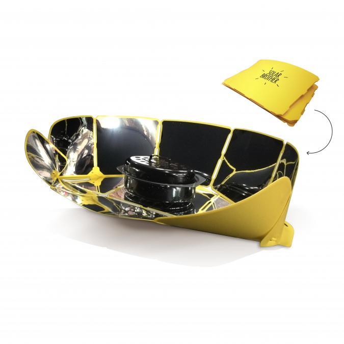 Solar Brother - SunGood - Cuiseur solaire ultra pliable - Cuiseur solaire