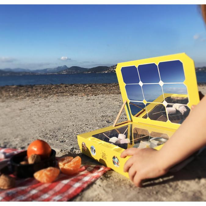 Solar Brother - SunLab - Laboratoire de cuisson solaire - Jouet d'extérieur - 6 à 8 ans