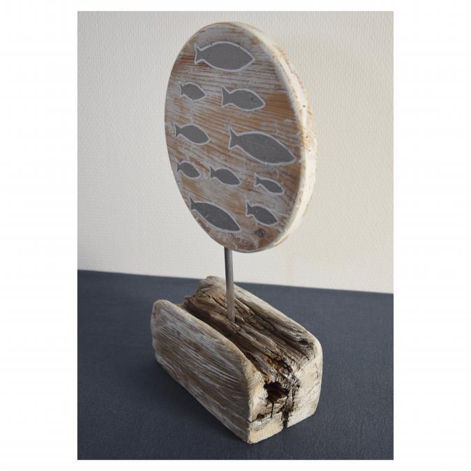 SORGA Créations - Déco bois flotté, Poissons - Objets décoratifs