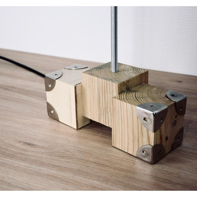SORGA Créations - Lampe 3 cubes - Lampe d'ambiance