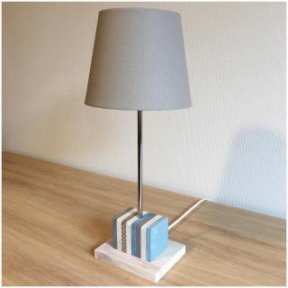 "SORGA Créations - Lampe ""Bloc Marine"" - Lampe d'ambiance"