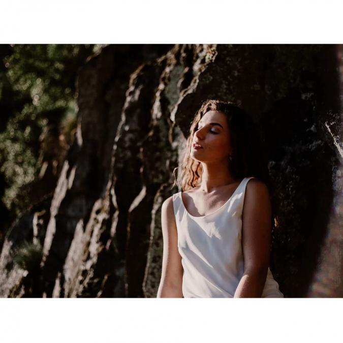 Soyeuse - Top Albina - Tee-shirt & Top - blanc