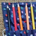 Suivez le fil - Trousse à crayons  12 couleurs - trousse à crayons