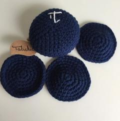 TALICHIC - Oursin Bleu Marine - Coton visage