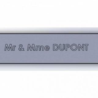 TD-PRINT-3D - Plaque de boite au lettres - Objets de la vie courante